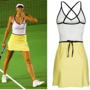 Nwt NIKE Maria Sharapova Women Tennis Dress skirt